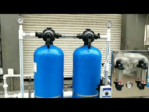 Commercial  FRP RO Water Plant