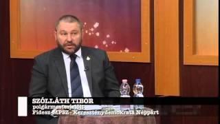 preview picture of video 'Önkormányzati választások 2014 - polgármesterjelölt vitafórum 2. rész [Hajdúnánás - nanastv.hu]'
