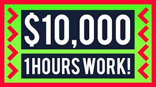 FREE PayPal Money: $10,000 - 1 Hour of Work! (Passive Income)