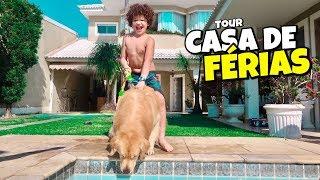 TOUR PELA MINHA CASA DE FÉRIAS! - Isaac do VINE