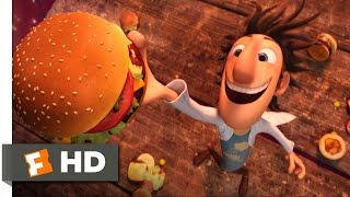 Cloudy With A Chance Of Meatballs - It's Raining Burgers Scene  1 10    Movie S