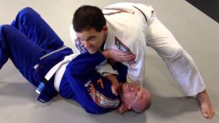 Bjj Side Control Baseball Bat Choke