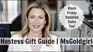 Hostess Gift Guide | MsGoldgirl