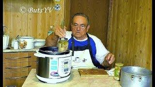 Рыбные консервы в масле в мультиварке-скороварке. Canned fish in oil in pressure cooker