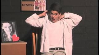 "Aaron Zweiback in the musical ""13"""
