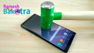 Samsung Galaxy Note 8 Screen Scratch Test Gorilla Glass 5 - dooclip.me