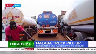 Malaba truck pile up: Residents fear rapid spread of COVID-19 as county hospital packed
