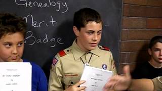 Boy Scout Genealogy Merit Badge