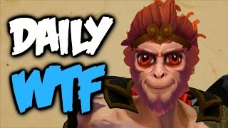 Dota 2 Daily WTF - Who Let The Monkey Out