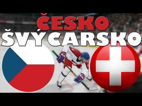 ČESKO - ŠVÝCARSKO | MS 2019 | NHL 19 | CZ/SK