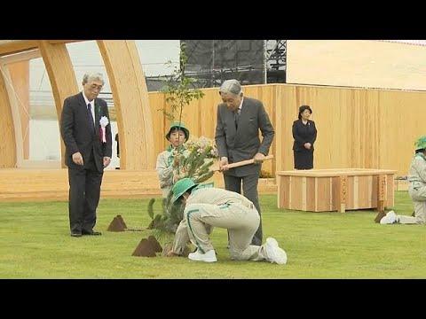 العرب اليوم - شاهد: إمبراطور وإمبراطورة اليابان في رحلة