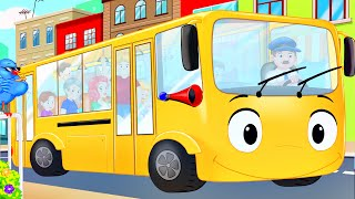 The Wheels on The Bus Song - Preschool Learning Song for Children!