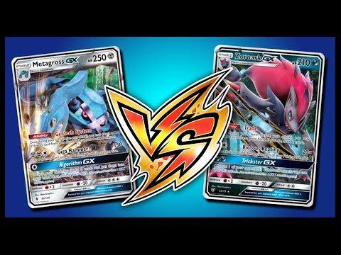 Metagross GX /Ultra Necrozma GX vs Zoroark GX / Garbodor – Pokemon TCG Online Gameplay