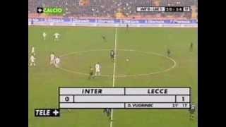 Lo Storico Gol Di Davor Vugrinec In Inter LECCE 0 A 1 Del 12 Novembre 2000