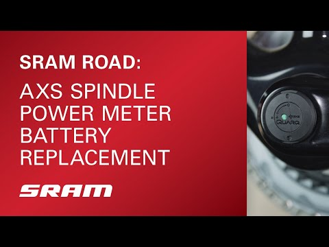 SRAM ROAD: AXS Spindle Power Meter Battery Replacement