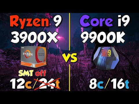 Ryzen 2700X goes i7-9700K style - SMT On vs  SMT off