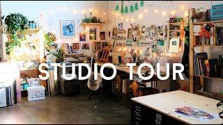 ART STUDIO TOUR // JACQUELIN DELEON
