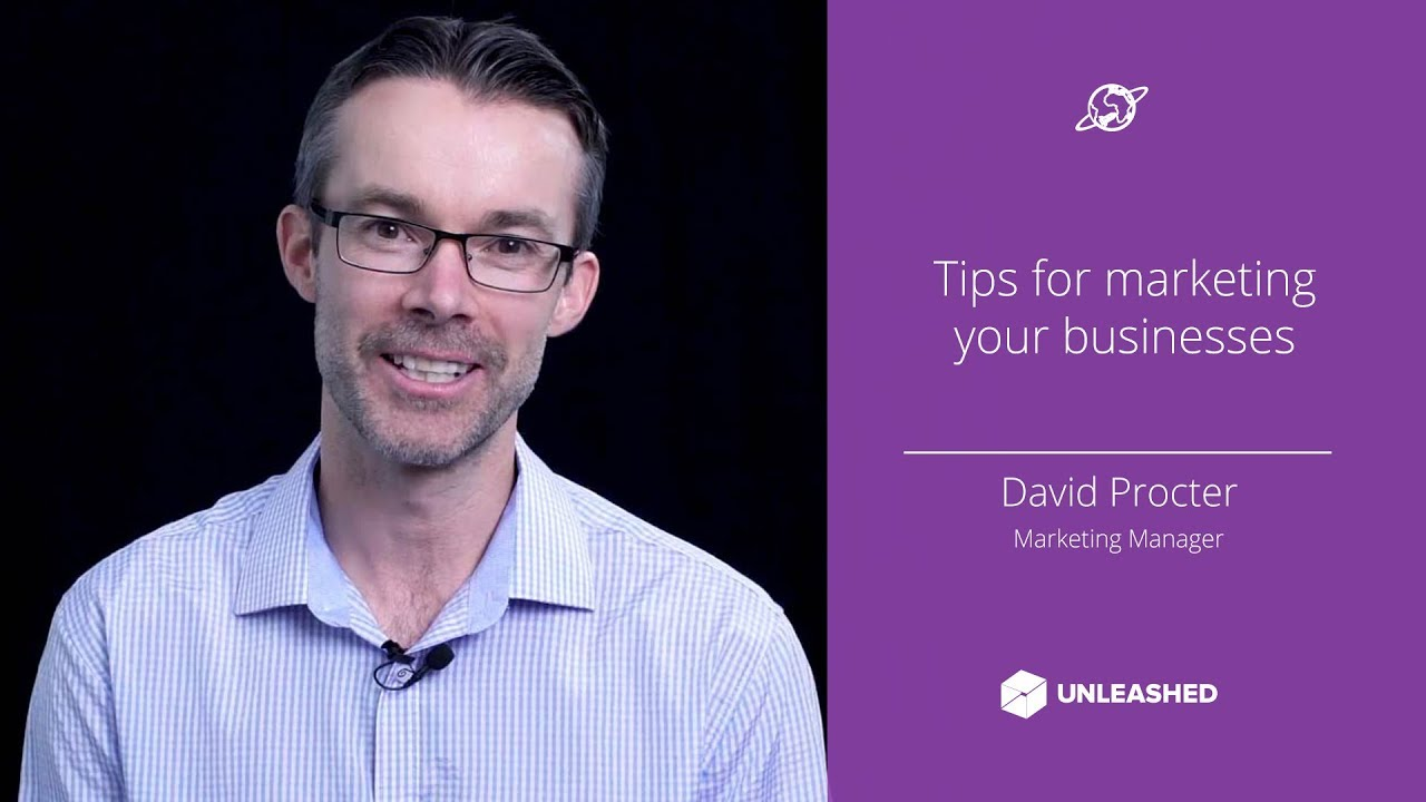 Tips for marketing your businesses YouTube thumbnail image
