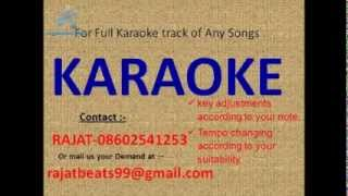 Main Teri Nazar Ka Suroor Karaoke Track - YouTube