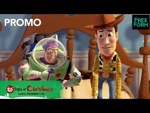 Freeform's 25 Days of Christmas | Toy Story Marathon | Freeform