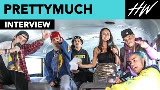 PRETTYMUCH Reveal The Most Romantic Thing They've Ever Done For A Girl!!   Hollywire
