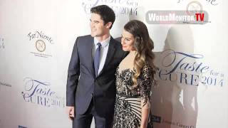 Даррен Крисс, Glee Lea Michele, Darren Criss arrive at JCCF 19th Annual Taste For A Cure
