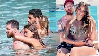 Lionel Messi And Luis Suarez Enjoying Holidays In Ibiza | MUST WATCH | HD