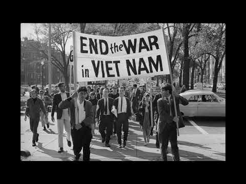 For what its worth by Buffalo Springfield but your protesting the vietnam war