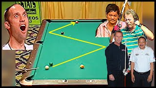 The EFREN REYES shot that changed POOL HISTORY | Epic Z shot