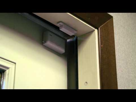 Demonstration of Window & Door Contacts - Fortress Security System