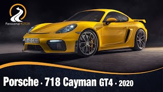 Porsche 718 Cayman GT4 2020 | Información Prueba Review