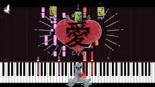 人質交換 We The Hostages - DECO*27 | [Piano Cover] (Synthesia) 「ピアノ」