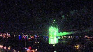 Nc holiday flotilla fireworks 1 - Video Youtube