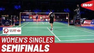 SF | WS | TAI Tzu Ying (TPE) [4] vs. CHEN Yu Fei (CHN) [2] | BWF 2019