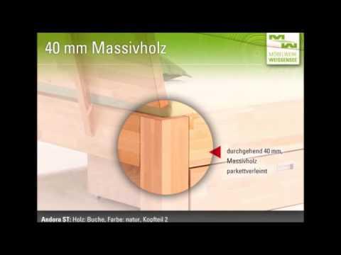 Möbelwerk Weißensee - Massivholzbetten Werksverkauf