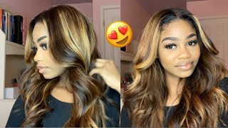 I CREATED HIGHLIGHTS AND LOW LIGHTS ON A BLACK WIG!  Ft. Julia Hair