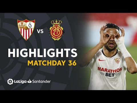Highlights Sevilla FC vs RCD Mallorca (2-0)