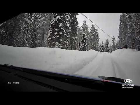 Rally Sweden Best of: On-board with Andreas
