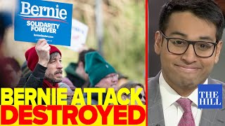 Saagar Enjeti destroys NYT's woke Bernie Bro attack