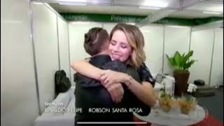 O REENCONTRO De Sandy & Junior No Fantástico