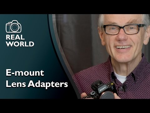 E-mount Lens Adapters for Sony cameras