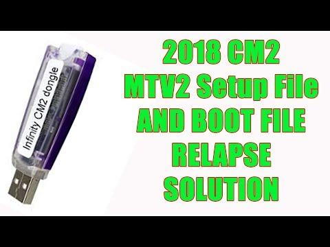2018 CM2 MTK V2 SETUP File AND BOOT FILE RELAPSE SOLUTION