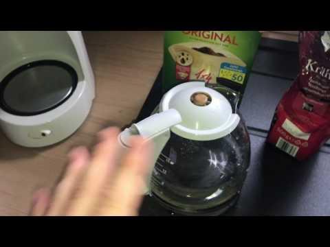Kaffee machen mit Bosch Cafe Maschine Filter-Kaffeemaschine, Direkt-Brühprinzip Café Brüh Anleitung