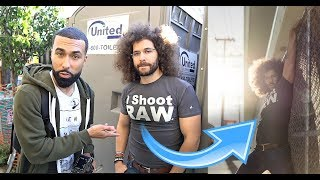 JARED POLIN MODELED FOR ME | FUNNIEST PHOTOSHOOT EVER!