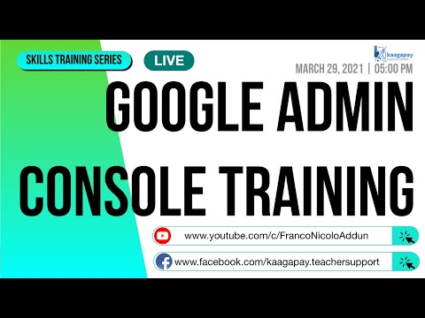 Google Admin Console Training - YouTube