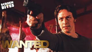 Wanted | Shootin' Targets | James McAvoy, Angelina Jolie and Morgan Freeman