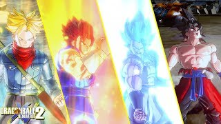 Dragon Ball Xenoverse 2 : Epic Z-Fighters Transformation Mods Compilation