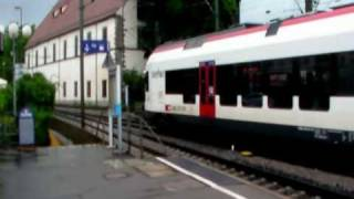 preview picture of video 'Konstanz HBF und der Seehas'