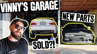 Vin's BMW M3 is SOLD? And Sway Bars + Injectors for the 1JZ Powered S14