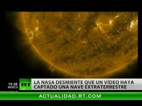 La NASA desmiente haber grabado imágenes de un OVNI